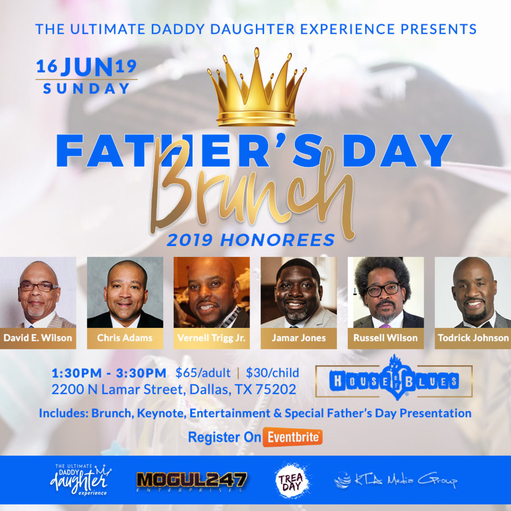 FATHERS DAY BRUNCH - HONOREE FLYER