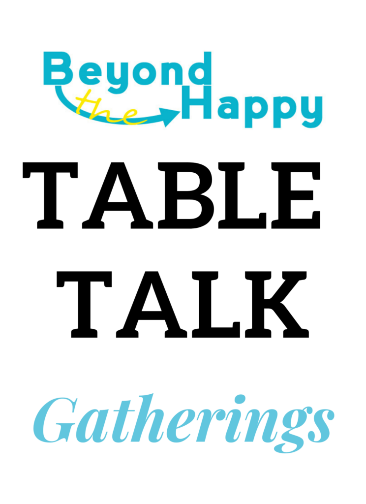 Table talk table sign